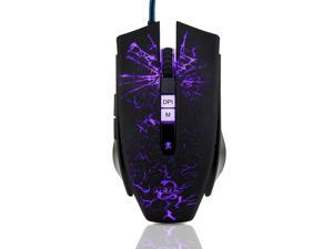 Weyes LT-036 9D 2800DPI 7 Buttons Optical Usb Wired Gaming Mouse for LOL WOW CS CF MMO