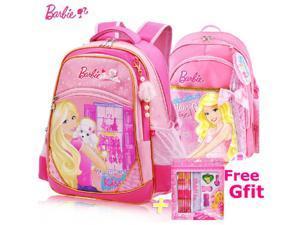 Barbie Lovely Cute School Bag for 2 - 5 Ages Kids Children Girls Backpack