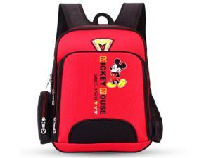 Backpack Disney Cute MICKEY MINNIE  MOUSE for Grades 3-6 Kids School Bag 4 Colors