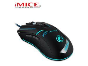 HOT Wired IMICE X8 8D 1600DPI 6 Buttons Adjustable DPI Usb Optical Gaming Mouse