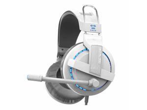 E-3LUE Cobra HS707 Blue Light Gaming Headsets & Microphone for Gamer MSN SKYPE