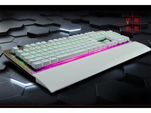 RuYiNiao K-26 Ergonomic Backlit Usb Wired Gaming Mechanical Keyboard with Blue Switch + 4 Colors Available