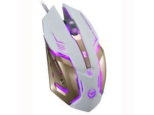 RAJFOO Crazy Scorpion 8D 3200DPI 6Buttons Ergonomic Usb Optical Pro-Gaming Mouse