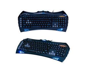 UrChoiceLtd® 2016 SUNT GK35 Limited Edition Backlit Ergonomic PC USB Wired Gaming Keyboard W/ BLUE LED Gamer For Laptop / Computer