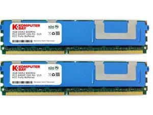 Crucial Technology CT25672AV667 2 GB 240-pin DIMM DDR2 PC2-5300 CL=5 Registered ECC DDR2-667 1.8V 256Meg x 72 Low Profile Memory