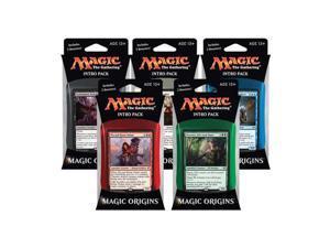 Origins Magic the Gathering 5 Intro Deck Set