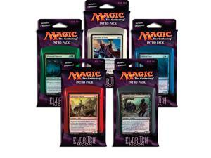 Eldritch Moon Magic the Gathering Set of 5 Intro Decks