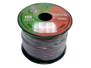 20 Gauge 100 ft. Spool of High Quality Speaker Zip Wire