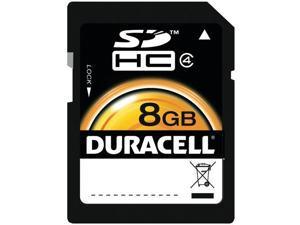 DURACELL DU-SD1008G-R Class 10 SD(TM) Card (8GB)