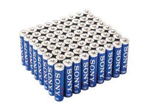 SONY S3A-72BULK STAMINA(R) PLUS Alkaline Bulk Batteries (AAA&#59; 72 pk)