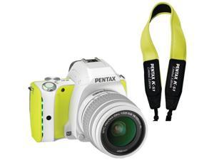 Pentax 06719 20.0 Mp K-s1 Camera, Lime Pie, With Free Green Strap