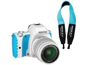 Pentax 06718 20.0 Mp K-s1 Camera, Blue Cream Soda, With Free Blue Strap