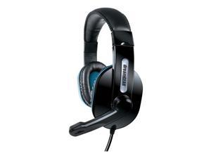 DreamGear DG-DGWIIU-4322 Broadcaster Headset Black
