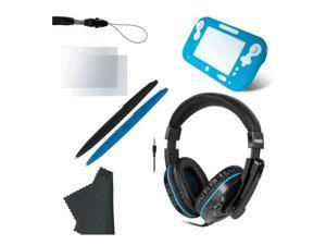 DreamGear DG-DGWIIU-4314 8 in 1 Essentials Pack for Wii U