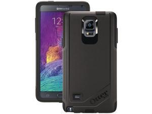 Samsung Galaxy Note 4 BLACK Otterbox Commuter Case + Screen Protector 77-50469