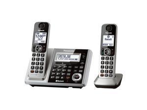 Panasonic Consumer KX-TGF372S Link2Cell Bluetooth Cordless, ITAD, 2 HS