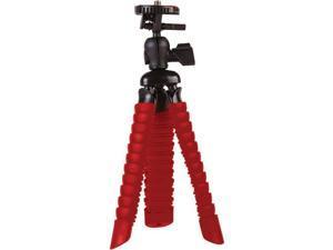 VIVITAR VIV-SP-7-RED Small Rubberized Spider Tripod (Red)