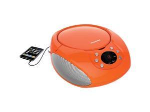 SYLVANIA SRCD261-B-ORANGE Portable CD Players with AM/FM Radio (Orange)