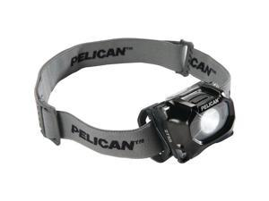 Pelican 027550-0100-110 72-Lumen 2755 Safety Approved 3-Mode LED Headlight (Black)