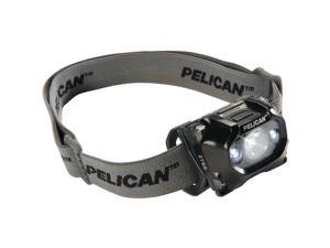 PELICAN 027650-0100-110 105-Lumen 2765 Safety-Approved 3-Mode LED Headlight (Black)