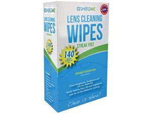 SHIELDME 6140 Lens Cleaning Wipes, 140 ct