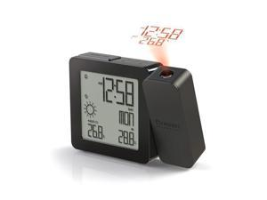 Projection Clock w/IN OUT Temp BLACK