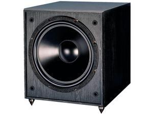 "PINNACLE SPEAKERS Digital Sub 600 12"" Dual 600-Watt Compound Compression Powered Subwoofer"