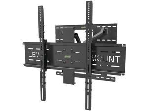 "LEVEL MOUNT LM65DMC 37"" - 85"" Deluxe Cantilever Full-Motion Flat Panel Mount"