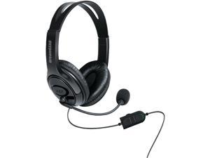 DREAMGEAR DGXB1-6617 Xbox One(TM) Wired Headset with Microphone (Black)