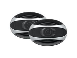 "POWER ACOUSTIK GF-693 Gothic Series Coaxial Speakers (6"" x 9"", 3 Way, 500 Watts)"