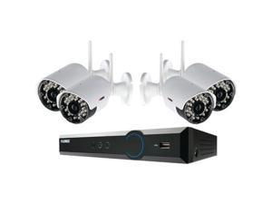 LOREX LH03041TC4W 4-Channel Stratus Cloud Connect 1TB DVR with 4 Real-time Wireless Cameras