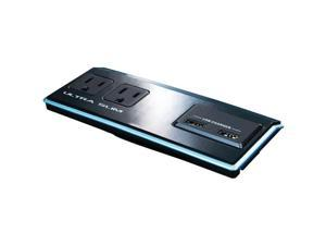 STEREN BL-920-320 2-Outlet Slim AC Wall Tap with 2 USB Outlets
