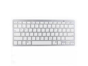 Bluetooth Wireless Slim German Language Keyboard for Windows, Mac OS, Linux, iOS, Android