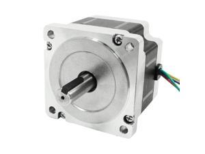 Nema34 4 Lead CNC Mill Robot Stepping Stepper Motor 66mm 4A 496oz.in