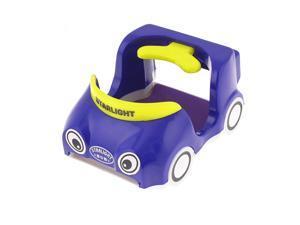 Vehicle Vent Mount Cartoon Car Shaped Drink Bottle Phone Holder Bracket Blue