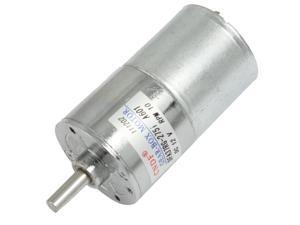 DC 12V 130mA 10RPM 15Kg-cm High Torque Permanent Magnetic DC Gear Motor