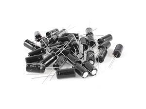 30 Pcs 1800uF 6.3V 105C Radial Electrolytic Capacitors Black 8x16mm