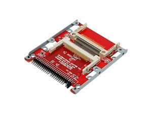 For Computer 2.5 Inch Dual CF to 44 Pin IDE Hard Drive