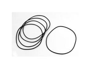 150mm x 3.1mm Sealing Oil Filter PU O Rings Washers Gaskets 5Pcs