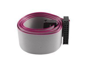 FC20P 100cm 20Pin Hard Drive Extension Wire Flat Ribbon Cable for Motherboard
