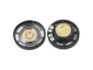 2pcs 0.25W 8 Ohm 29mm External Magnetic Magnet Electronic Speaker Loudspeaker