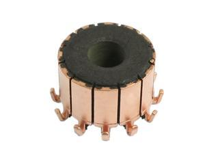 7.14mm Shaft Dimeter 12 Gear Tooth Copper Shell Mounted On Armature Commutator