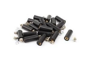 20pcs M3 Brass Insert Thread 8x20mm Insulated Standoffs Spacer for Motherboards