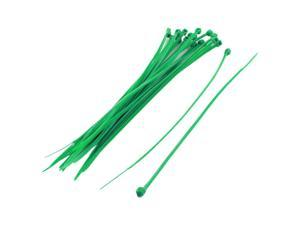 20Pcs 2mm x 150mm Self Locking Zip Cable Ties Wire Cord Strap Tie Green