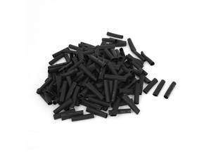 400pcs 5mm Polyolefin 2:1 Shrinking Ratio Heat Shrink Tubing Tube Wrap Wire