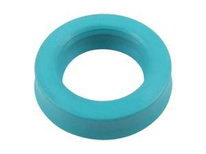 Metric 25x38x10mm U32i PU Hydraulic Piston Rod U Cup Oil Grease Seal Cyan Blue