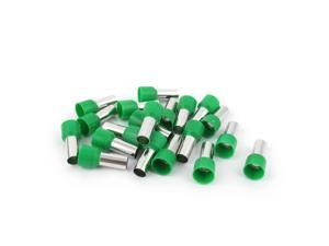 20 Pcs Wire Crimp Connector Terminal Insulated Ferrule Green E16-12 6AWG 16mm2