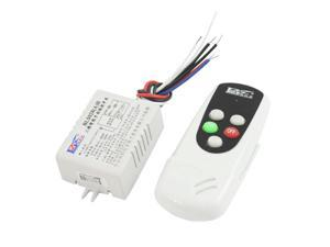 25M Light ON/OFF Wireless Controller 2 Channel Receiver Remote Control Switch