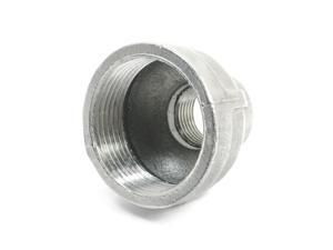 Stainless Steel 304 Class 150 19mm x 39 mmFemale Thread Bell Reducing Coupling