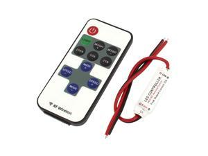 Unique Bargains DC12-24V 30M LED Lighting Control RF Remote Control Dimmer Switch Controller